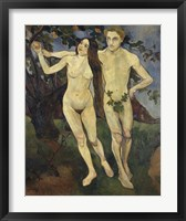 Framed Adam and Eve, 1979