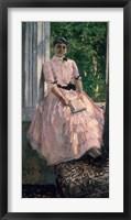 Framed Portrait of Mrs Ljubatovic