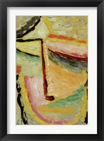Framed Small Abstract Head, 1931