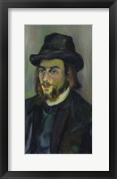 Framed Portrait of Erik Satie (1866-1925), 1892-93