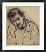 Framed Utrillo Pensive, 1911