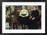 Framed Utter Family, 1921