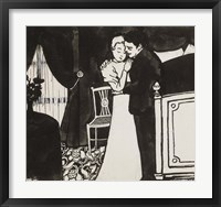 Framed Ruby and the Belle Pin, c. 1897