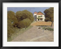 Framed House with Red Roof, 1924