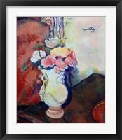 Framed Vase of Flowers, 1938