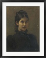 Framed Portrait of a Young Woman