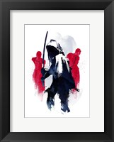 Framed Michonne