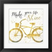 Framed Golden Ride II