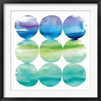 Framed Summer Dots II