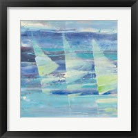 Framed Summer Sail I