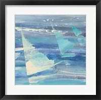 Framed Summer Sail II