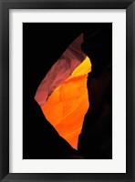 Framed Shaft of Light, Upper Antelope Canyon 1