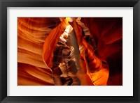 Framed Slot Canyon, Upper Antelope Canyon, Page, Arizona