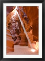 Framed Sunbeam Illuminates Upper Antelope Canyon
