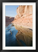 Framed Glen Canyon, Lake Powell, Antelope Canyon