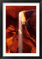 Framed Slot Canyons of the Colorado Plateau, Upper Antelope Canyon, Arizona