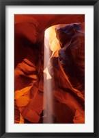 Framed Slot Canyons of the Colorado Plateau, Upper Antelope Canyon, Arizona