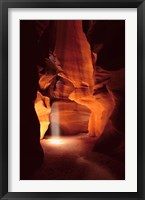 Framed Light in Antelope Canyon