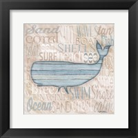 Driftwood Beach Icons II Framed Print