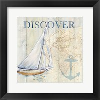 Sail Away II Framed Print