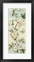 Cherry Bloom Panel I Framed Print