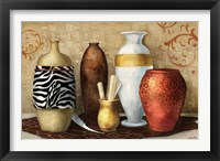 Safari Vase Framed Print