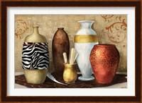 Framed Safari Vase