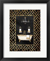 Gold Chip I Framed Print