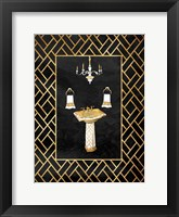 Gold Chip II Framed Print
