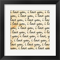 Framed Love Envelope