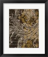 Oscar Gold Framed Print
