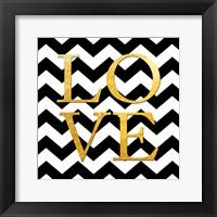 Love (Square) Framed Print