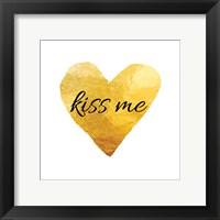 Framed Kiss Me (Square)