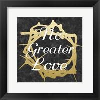 No Greater Love 2 Framed Print