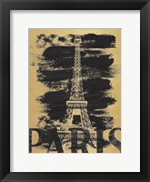 Paris Paint Framed Print