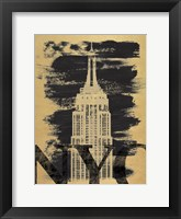 NYC Paint Framed Print