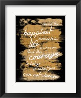 Framed Happiest Moments