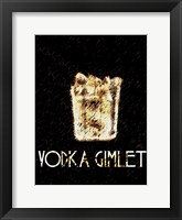 Vintage Vodka Framed Print