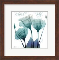 Framed Gentian Buddies 1