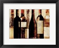 Framed Smokey Bottles 3