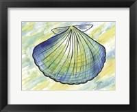 Framed Underwater Shell 1