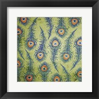 Framed Peacock Pattern 1