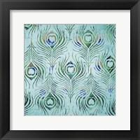 Framed Peacock Pattern 2
