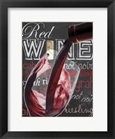 Framed Wine Glass