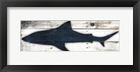 Framed Shark Wood