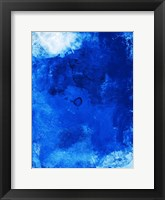 Framed Bright Blue