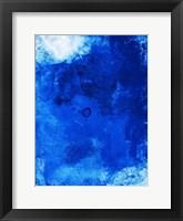 Framed Bright Blue