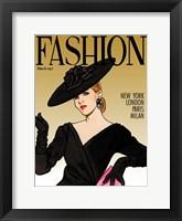 Framed Fashion Mag