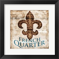 Framed French Quarters