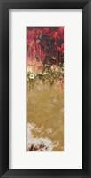 Framed Blazing Wood 1